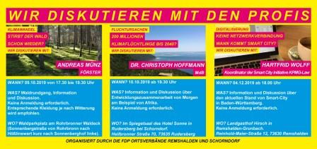 """""""smart city"""" - Diskussion mit Profis @ Landgasthof """"Hirsch"""""""